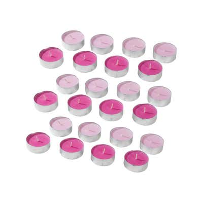 Duftteelichter, 24er Pack, ca. 3,9x1,9cm