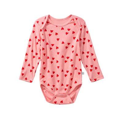 Baby-Mädchen-Body mit hübschem Muster