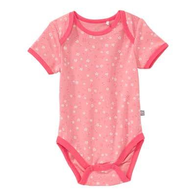 Baby-Mädchen-Body mit überlappender Schulter