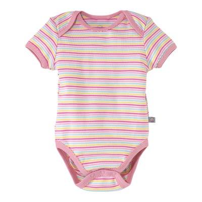 Baby-Mädchen-Body mit kurzen Ärmeln