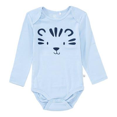 Baby-Jungen-Body mit Tiergesicht