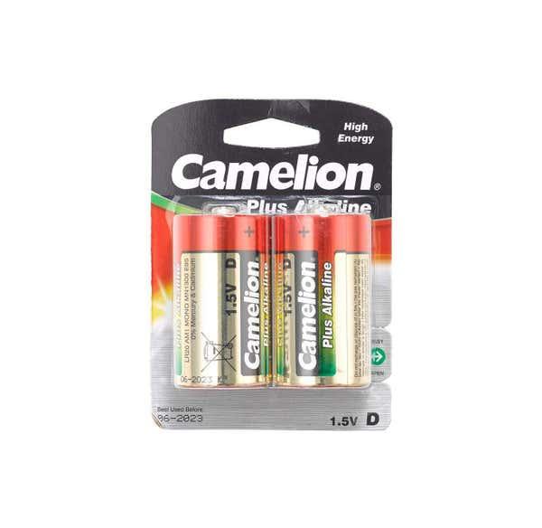 Camelion Batterie Größe LR20, 2er Pack