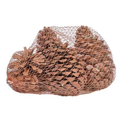 Tannenzapfen im Netz, 5er Pack