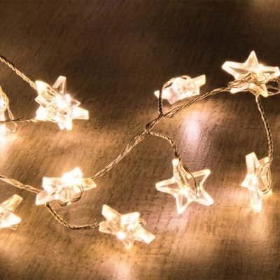LED-Lichterkette mit hübschen Sternen, ca. 150cm