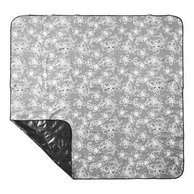 XXL-Picknickdecke mit wasserabweisender Rückseite, ca. 200x200cm