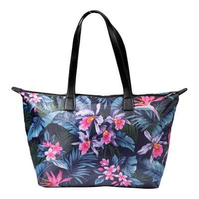 Damen-Handtasche mit floralem Design