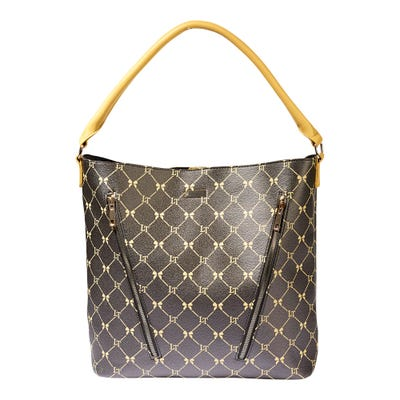 Damen-Handtasche mit elegantem Muster, ca. 40x33x12cm