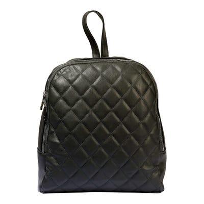 Damen-Rucksack mit Rauten-Muster, ca. 26x30x9cm