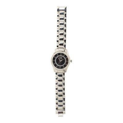 Damen-Armbanduhr mit Schmucksteinchen