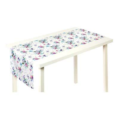 Tischläufer mit wunderschönen Veilchen, ca. 40x140cm