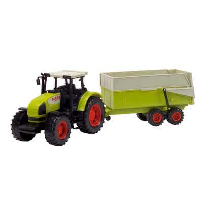 Dickie Traktor mit Kippwagen, ca. 55cm