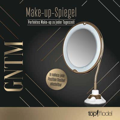 Germany's next Top Model Make-Up-Spiegel mit LED-Licht, ca. 20x31cm