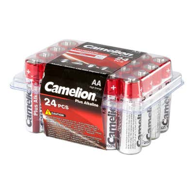 Camelion Batteriebox im günstigen 24er Pack, AA