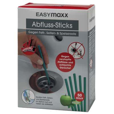 EASYmaxx Abfluss-Sticks, 50er Pack