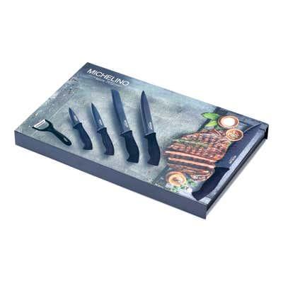 Messer-Set aus Edelstahl