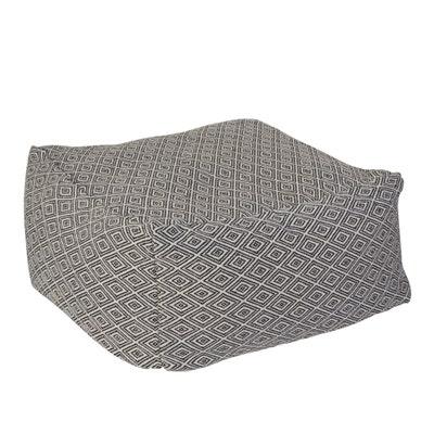 Sitzpouf mit Baumwolle, ca. 45x45cm