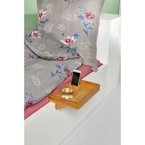 Bett-Caddy aus Bambus, ca. 35x23x9cm