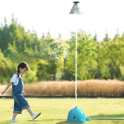 Playfun Wassersprinkler Wal mit Schwebeelement, ca. 30x30x29cm