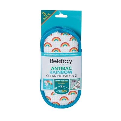 Beldray Reinigungspads im 3er-Pack, ca. 10x19x2cm