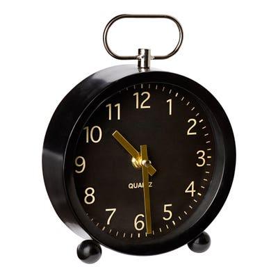 Uhr aus Glas, ca. 15x4x21cm