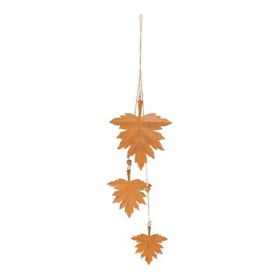 Deko-Blätter zum Hängen, ca. 40x13x1 cm