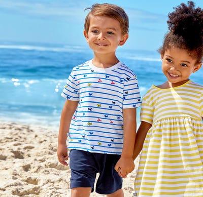 Baby-Jungen-T-Shirt und Shorts, 2-teilig