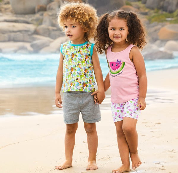Baby-Jungen-Shorts im beliebten Basic-Style