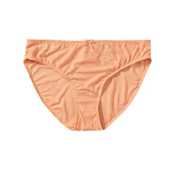 Damen-Panty mit Jacquard-Muster