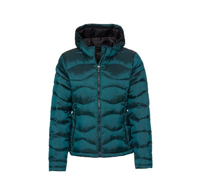 Damen-Steppjacke in Two-Tone-Optik