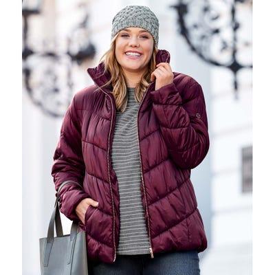 Damen-Jacke mit stylischem Stehkragen