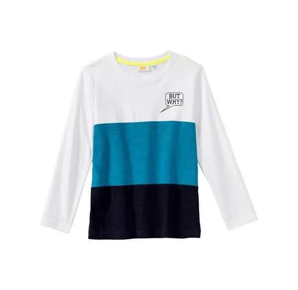 Jungen-Shirt mit cooler Sprechblase