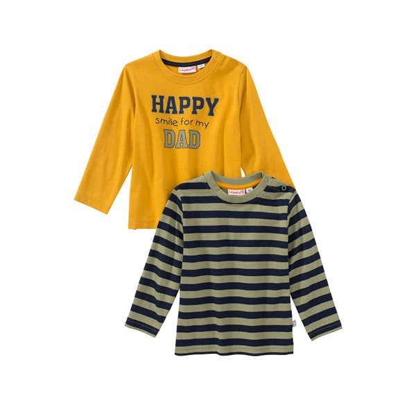 Baby-Jungen-Shirt, 2er Pack