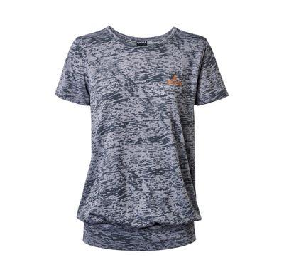Damen-T-Shirt mit Ausbrenner-Effekt