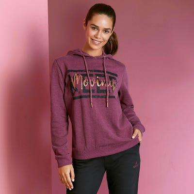 Damen-Sweatshirt in sportlichem Design
