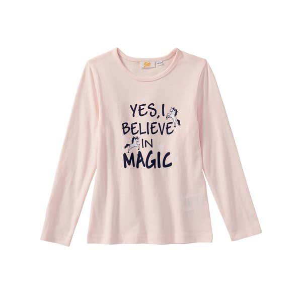 Mädchen-Shirt mit zauberhaftem Spruch