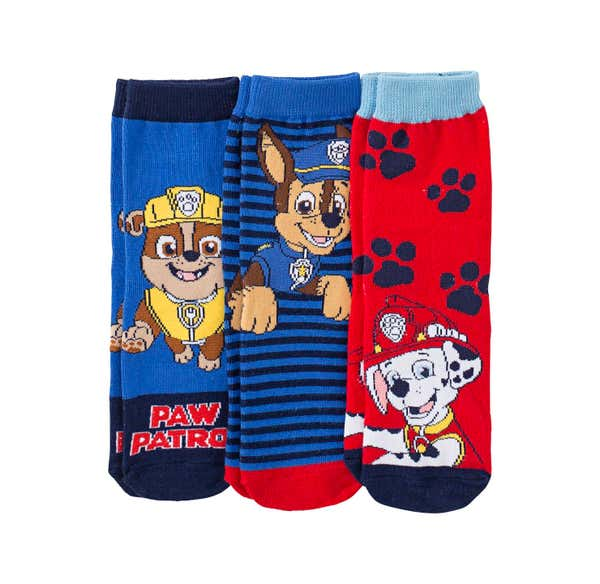 Paw Patrol Jungen-Socken, 3er Pack