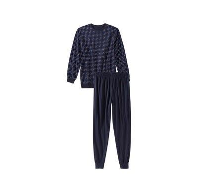 Herren-Schlafanzug mit kleinen Karos, 2-teilig