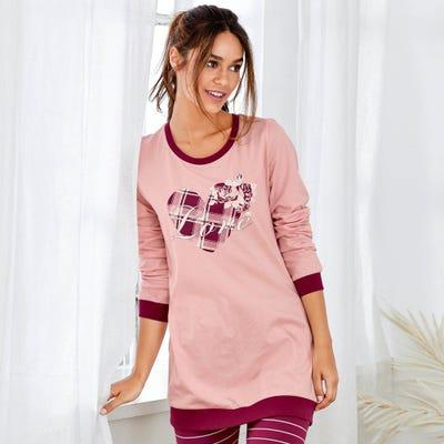 Damen-Shirt mit angesagtem Herz-Motiv