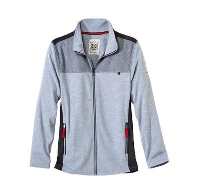 Herren-Sweatshirt mit stylischem Stehkragen