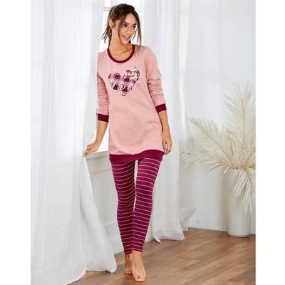 Damen-Hose mit schicken Streifen