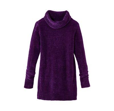 Damen-Pullover mit kuscheligem Rollkragen