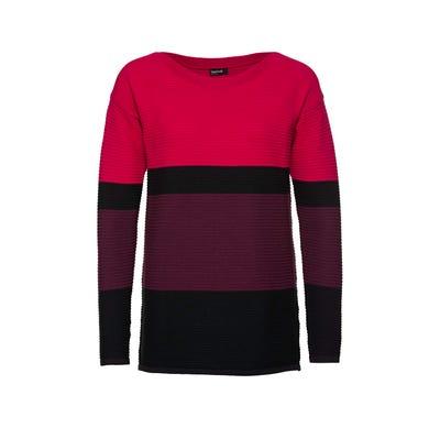 Damen-Pullover mit Streifen-Design