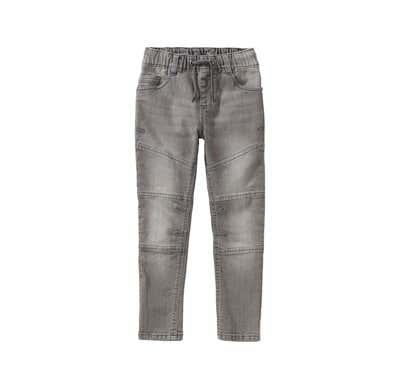 Jungen-Jeans mit modernen Einsätzen