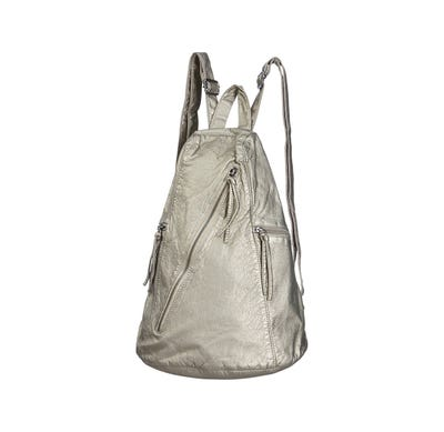 Damen-Rucksack in Leder-Optik, ca. 27x37x20cm