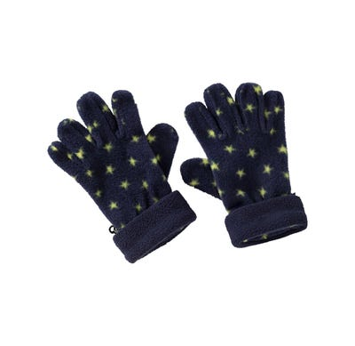 Kinder Mikrofleece-Handschuhe mit Sternchen-Muster
