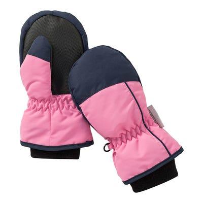 Kinder-Thermo-Handschuhe mit Kontrast-Design