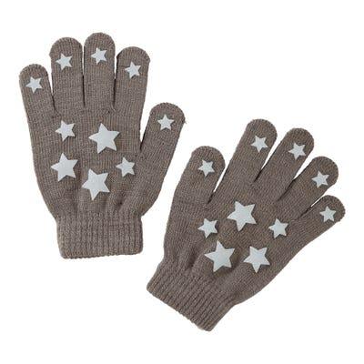 Mädchen-Handschuhe mit Sternenmotiven