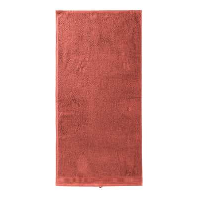 Handtuch mit Waffelbordüre, 50x100cm