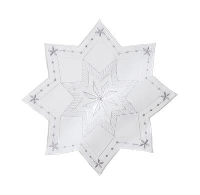 Deckchen in traumhafter Sternchen-Form, ca. 29cm