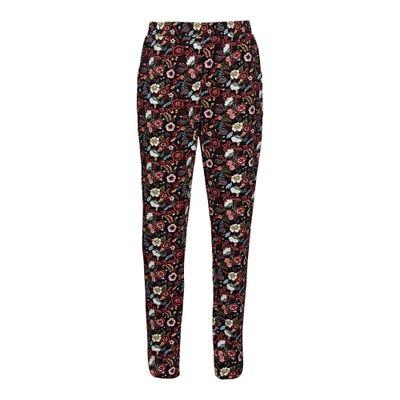 Damen-Joggpants mit floralem Muster